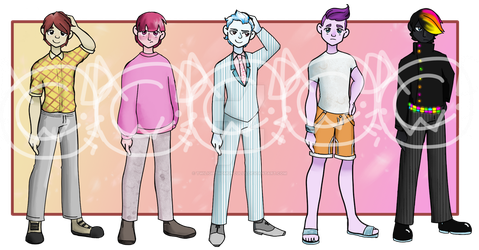 Adoptable Set-Back to School Male(OPEN) by TwilightHomunculus