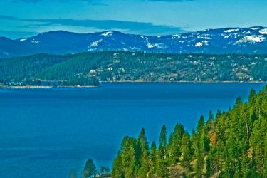 Lake Coeur d'Alene, Idaho by quintmckown