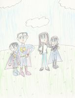 AT: Family of the Man of Steel by mastergamer20