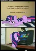 Twilight Sparkle: Getting Over a Break-up by Paris7500