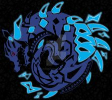 Abyssal Lagiacrus Sigil by VulcemTheLoneWolf