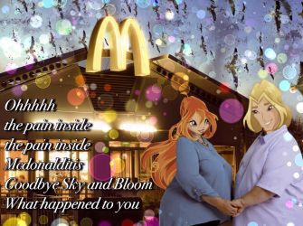 A Real Pain In The Maccas by xTheHexagonMinex