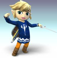 Outset Toon Link V.2 by Wolfgerlion