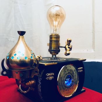 Victorian gothic Steampunk style lamp by Ovdiem  by ovdiem