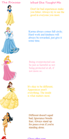 Life Lessons From Disney Princesses by Hawkheart29