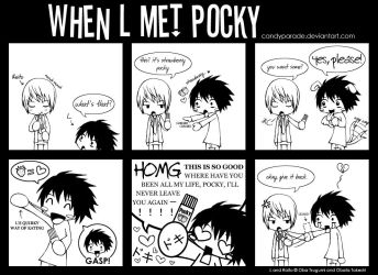 When L Met Pocky by candyparade