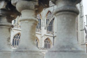 Thermae: View of Bath Abbey, II by neuroplasticcreative