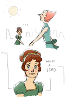 beatrice and pearl by ChocolateSun