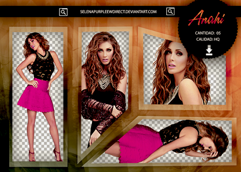 Pack PNG Anahi #96 by SelenaPurpleewDirect