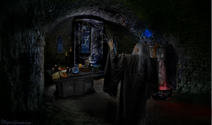 The Wizard by magicsart