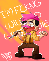 Wilford Warfstache!!! by aileenarip