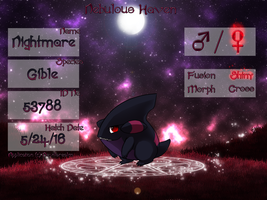 PKMN|Application|Nightmare| by DevilsRealm