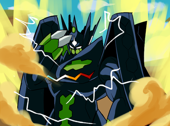 Perfect Zygarde by RigorM0RTIS