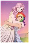 Rainbow and Fluttershy's Wedding by HazuraSinner