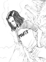 Android 17 Fanart by JPCosta30
