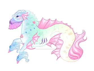 Hippocampus Adopt - Open USD! by SilveringOak