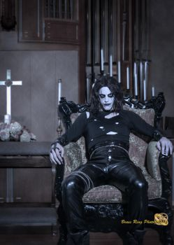 'Tell them, Eric Draven sends his regards' by BlitzkriegCosplay