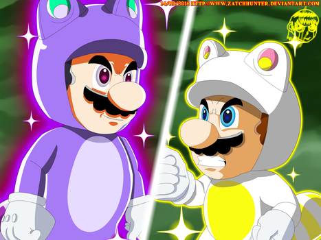 Super Tanookis Battle! by ZatchHunter