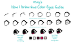 How To Draw Eyes - Useful for Anime Eyes by StarshineBeast