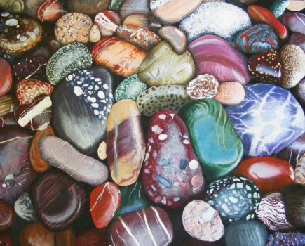 Canadian Pebbles by Oliver-W00D