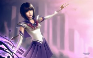 Sailor Saturn by lenadrofranci