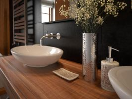 2 Bamboo bathroom by W-Art3D