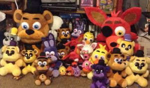 FNAF: The Whole Plush Gang 2 by Negaduck9