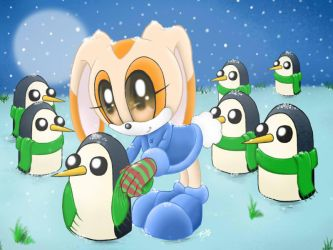 Save the penguins by 7Tuchi
