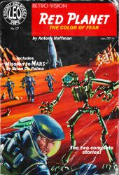 Red Planet, the Pulp Cover by LeoluxArt