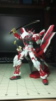 MBF P-02 Astray Red Frame Kai MG-2 by GeneralMechanics