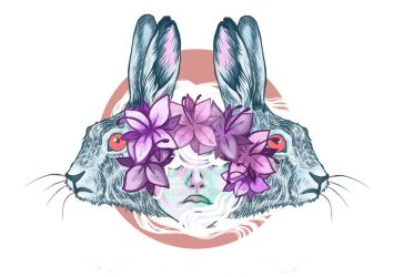 bunny is done by Itqual