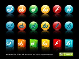 Macromedia Icons Pack by deleket