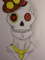 Gentle Man: The Sugar Skull by Zahyebah