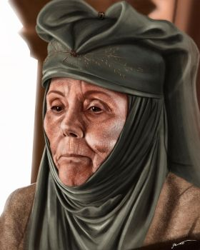 Olenna Tyrell by masteryue