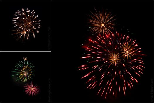 Canada Day Fireworks by darwin2kx
