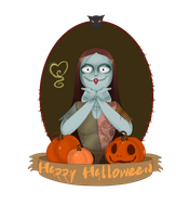 Sally from Nightmare Before Christmas by Hermes04