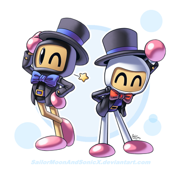 They're Fancy by SailorMoonAndSonicX