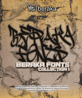 Beraka Fonts Collection 2008 by beraka
