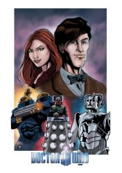 Doctor Who by mike-mcgee
