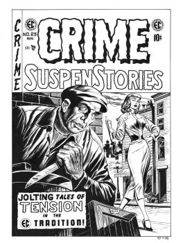 Crime SuspenStories #25 Cover Recreation by dalgoda7