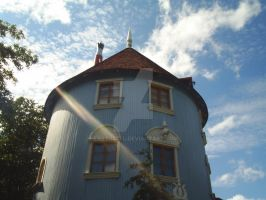 The Moomin house by Earthbell