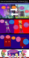 Solar and Sparking Adventures: The Gateway Part 5 by EmoshyVinyl