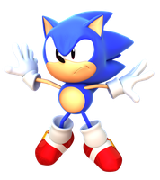 Sonic CD Opening Render by alsyouri2001