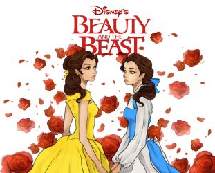 Beauty And The Beast by Purple-Meow
