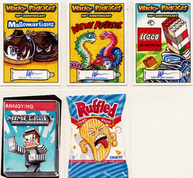 Wacky Packages 50th Anniversary by mhxistenz