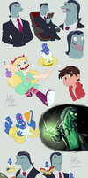 SVTFOE sketches by AllforCartoons