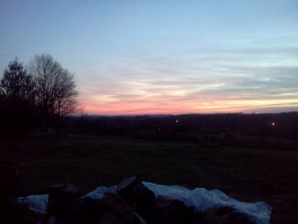 Sunset at Home by dhbraley