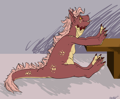 Couch Dragon by Dragimal