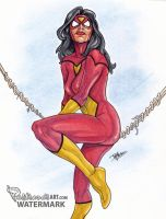 Spiderwoman by Pastranas-Art