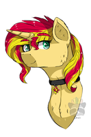 Sunset Shimmer by Roieen